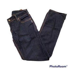 Silver jeans Suki midrise straight leg dark wash jeans w32 l32